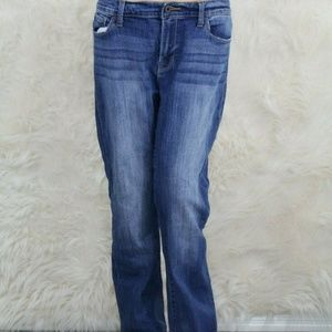 Lucky Brand Brooke Boot Jeans Sz 12/31R Med Wash